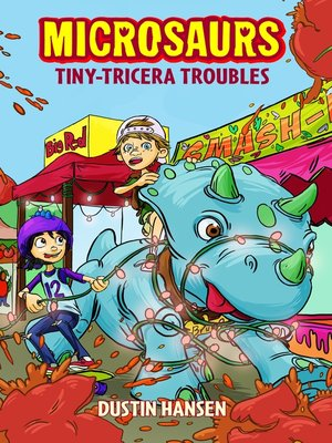 cover image of Tiny-Tricera Troubles