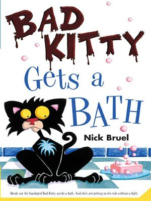 cover image of Bad Kitty Gets a Bath