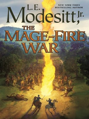 cover image of The Mage-Fire War