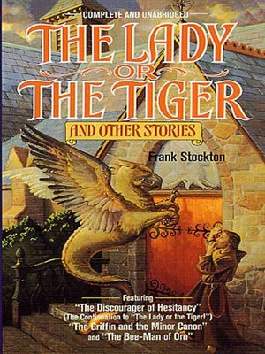 cover image of The Lady or the Tiger and Other Short Stories