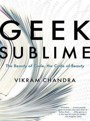 cover image of Geek Sublime