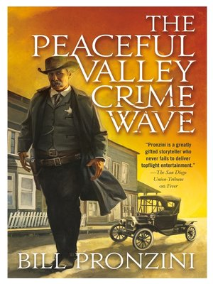 cover image of The Peaceful Valley Crime Wave