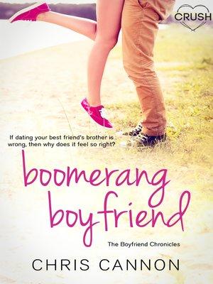 cover image of Boomerang Boyfriend