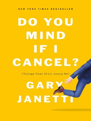 cover image of Do You Mind If I Cancel?
