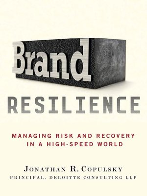 cover image of Brand Resilience