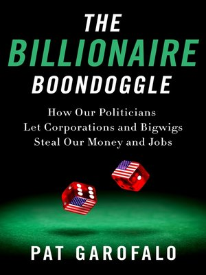 cover image of The Billionaire Boondoggle