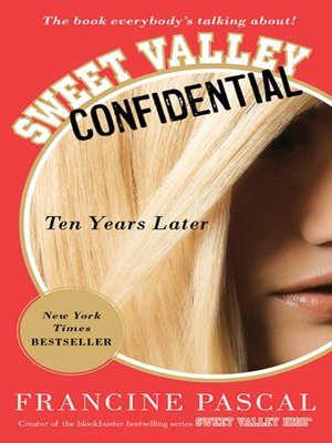 cover image of Sweet Valley Confidential