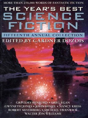 cover image of The Year's Best Science Fiction, Fifteenth Annual Collection