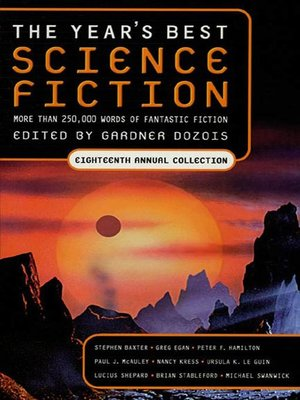 cover image of The Year's Best Science Fiction, Eighteenth Annual Collection