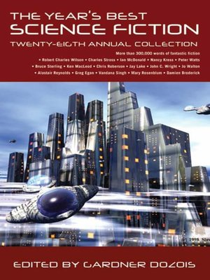 cover image of The Year's Best Science Fiction, Twenty-Eighth Annual Collection