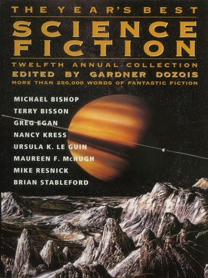 cover image of The Year's Best Science Fiction, Twelfth Annual Collection