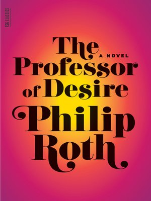 cover image of The Professor of Desire