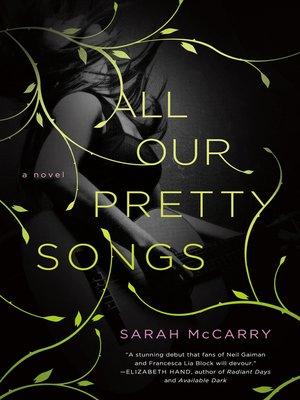 cover image of All Our Pretty Songs--A Novel