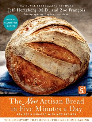 cover image of The New Artisan Bread in Five Minutes a Day