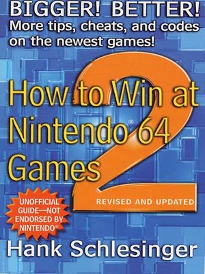 cover image of How to Win at Nintendo 64 Games 2