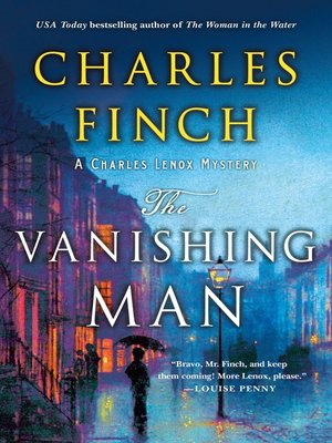 cover image of The Vanishing Man, A Charles Lenox Prequel
