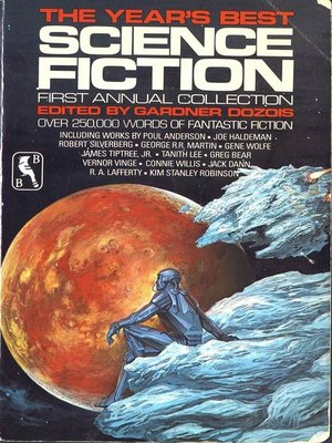 cover image of The Year's Best Science Fiction, First Annual Collection
