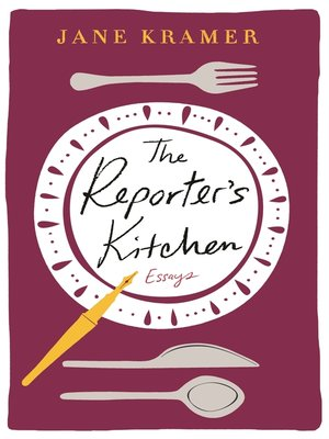 cover image of The Reporter's Kitchen