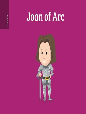 cover image of Pocket Bios--Joan of Arc
