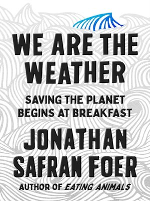 cover image of We Are the Weather