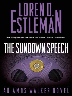 cover image of The Sundown Speech