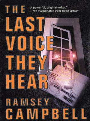 cover image of The Last Voice They Hear