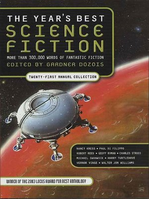 cover image of The Year's Best Science Fiction, Twenty-First Annual Collection