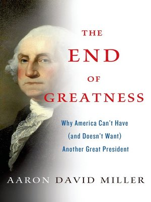 cover image of The End of Greatness