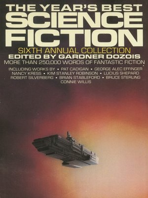 cover image of The Year's Best Science Fiction, Sixth Annual Collection
