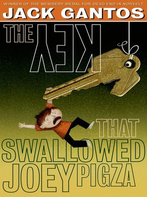 cover image of The Key That Swallowed Joey Pigza