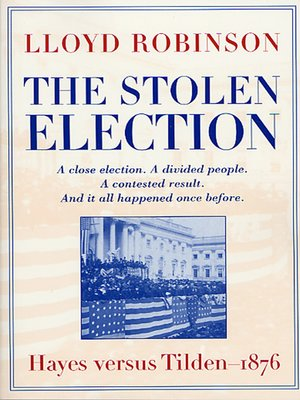cover image of The Stolen Election