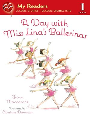 cover image of A Day with Miss Lina's Ballerinas