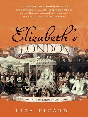 cover image of Elizabeth's London