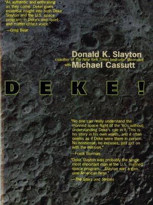 cover image of Deke!