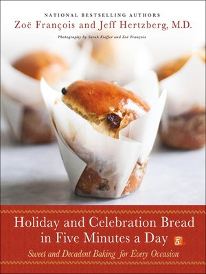 cover image of Holiday and Celebration Bread in Five Minutes a Day