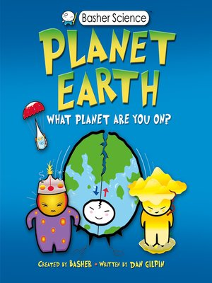 cover image of Basher Science--Planet Earth