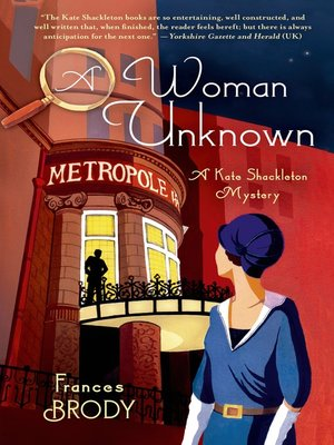 cover image of A Woman Unknown