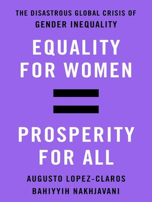 cover image of Equality for Women = Prosperity for All