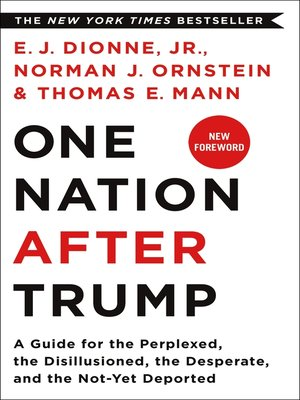 cover image of One Nation After Trump