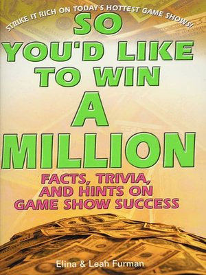 cover image of So You'd Like to Win a Million