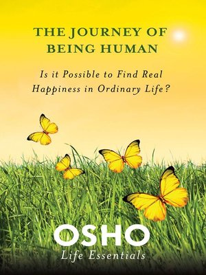 cover image of The Journey of Being Human