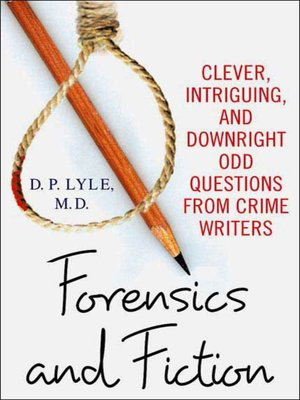 cover image of Forensics and Fiction