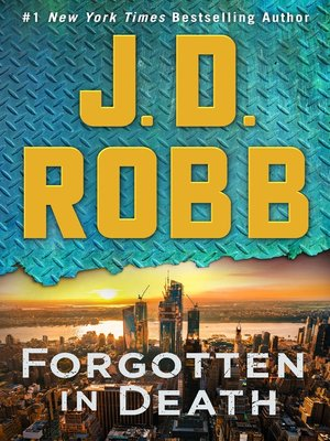 cover image of Forgotten in Death