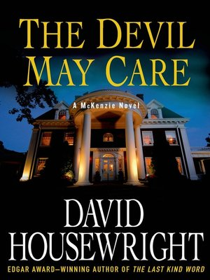 cover image of The Devil May Care