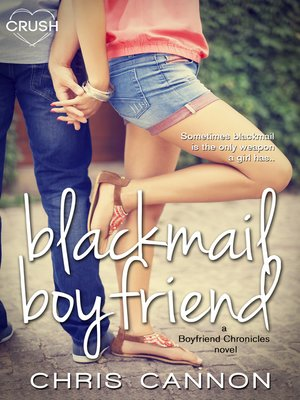 cover image of Blackmail Boyfriend