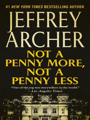 cover image of Not a Penny More, Not a Penny Less