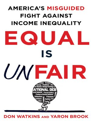 cover image of Equal Is Unfair