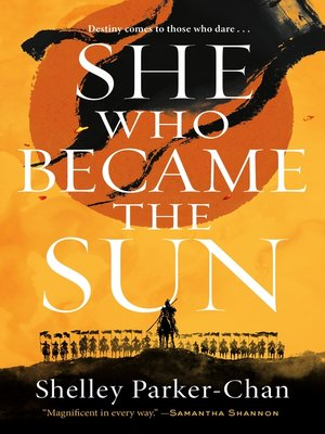 cover image of She Who Became the Sun