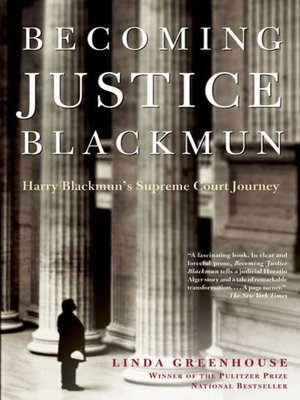 cover image of Becoming Justice Blackmun