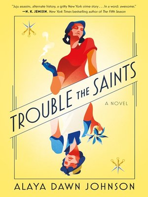 cover image of Trouble the Saints